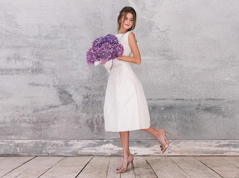 Wedding dress short wedding dress Alternative wedding dress | Etsy