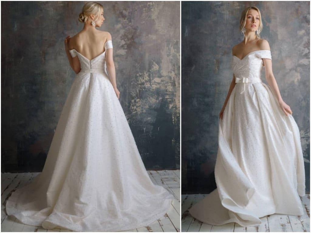 taffeta wedding dresses