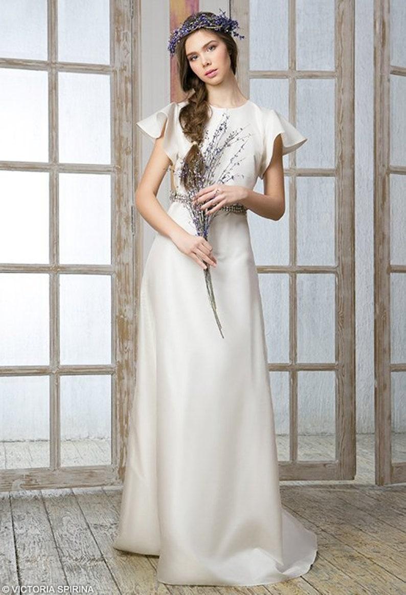 Dana / Bohemian wedding dress Romantic wedding dress plus size   Etsy