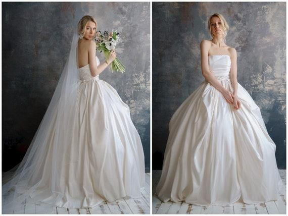 Tafetta Wedding Dress - Wedding Dress   Decore Ideas 95354423a441