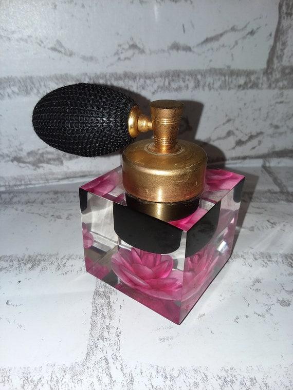 7 oz Square Glass Perfume Bottle