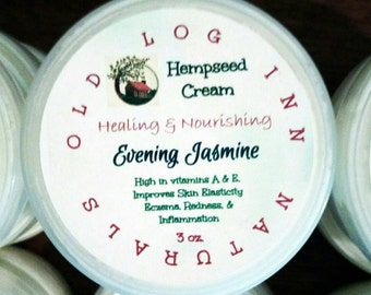 Hempseed Cream for all skin types/hydrating/elasticity/softness/redness and inflammation