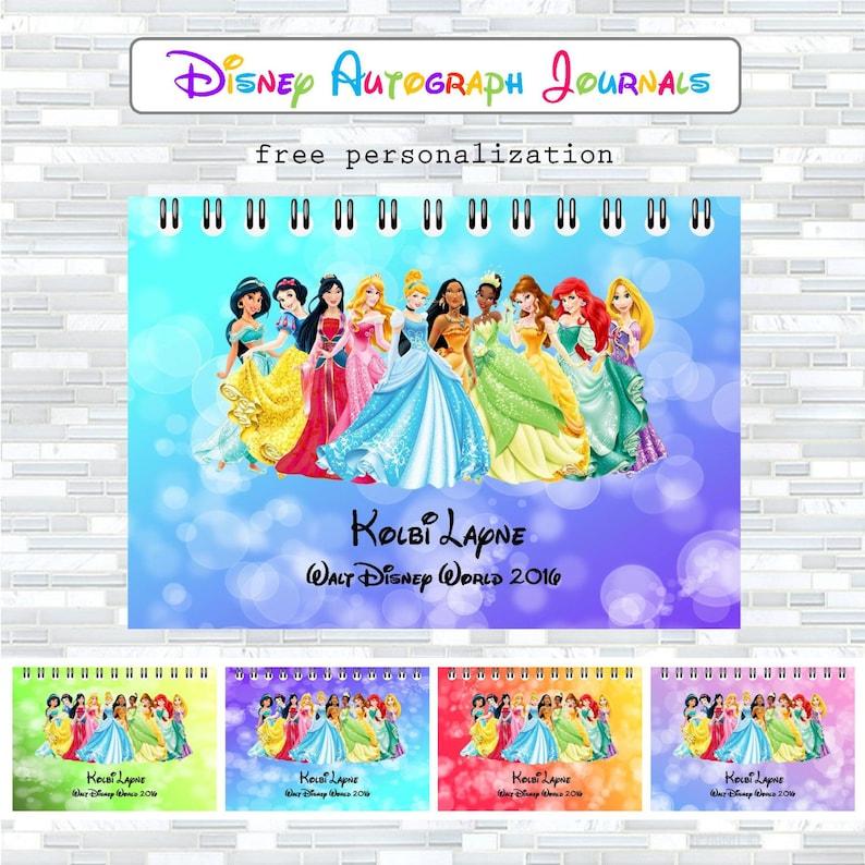 Disney autographs Disney autograph book Walt Disney World image 0