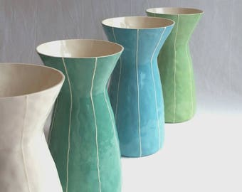 Large ceramic vase. Anniversary or wedding gift