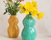Ceramic vase. Wedding gift. Modern decor. Home accent