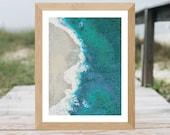 Beach Waves Cross Stitch