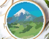 Mountain (Paint by Numbers) Cross Stitch