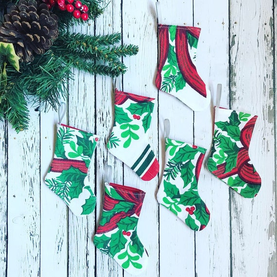 Christmas Stocking Gift Card Holder Farmhouse Christmas