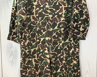 63486015f6539 Vintage 1970's Camouflage Coveralls XL 100% Cotton
