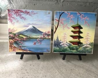 Vintage Japanese Tiles