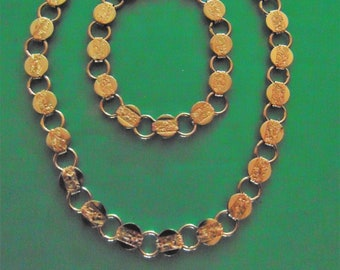 Sarah Coventry silver tone jewelry set