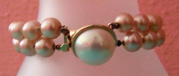 Marvella faux pearl bracelet - image 2