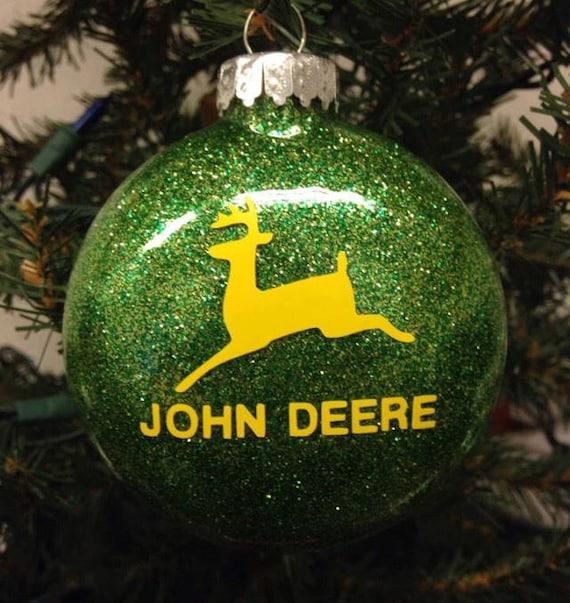 image 0 - John Deere Ornament Great Gift For John Deere Fan. John Etsy
