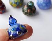 MANDALA! Hand Made Glass Figurine Sculpture Board Game Player Marker