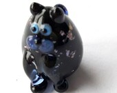 MEOW! Tinsil the Kitty Marker Hand Made Glass Cat Figurine Sculpture Game Player Pawn