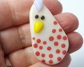 PLUCKY CLUCK! choose from 6 brooches chicken hen egg chick brooch easter