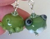 OGRE! earrings by Jenefer...