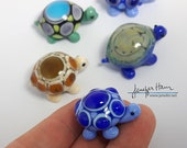 TURTLE! Hand Made Glass Figurine Sculpture Board Game Player Marker