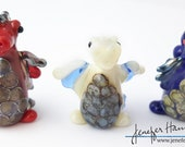 choose your DRAGON! Custom Glass Sculpture Player Marker Figurine Miniature by Jenefer Ham Pawn Board Game