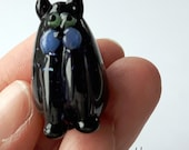 MEOW! Starshine the Kitty Marker Hand Made Glass Cat Figurine Sculpture Game Player Pawn