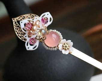 Chinese style hair stick,Hair pin,Hair Accessories,gift for her,gift for women,wedding hair accessories,bride hair accessories