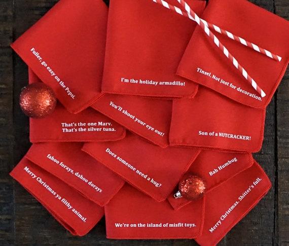 Weihnachten Servietten Weihnachtsdekoration Küche Dekor | Etsy
