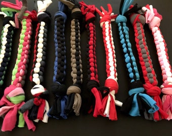 ONE dog tug toy, durable dog toy, vet tech gift, dog lover gift, dogs that fetch, agility training, flyball training, tug o war, puppy toy