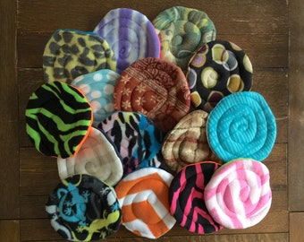SMALL dog frisbee, dog lover gift, dogs that fetch, agility training, flyball training, indoor dog toy, rescue dog, interactive dog puppy