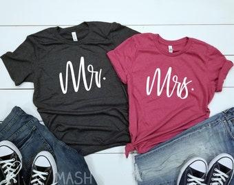 cfbbd9cc couples honeymoon shirts, mr mrs shirts, honeymoon shirts, matching  honeymoon shirts, for couples, honeymoon gift, gifts for couples