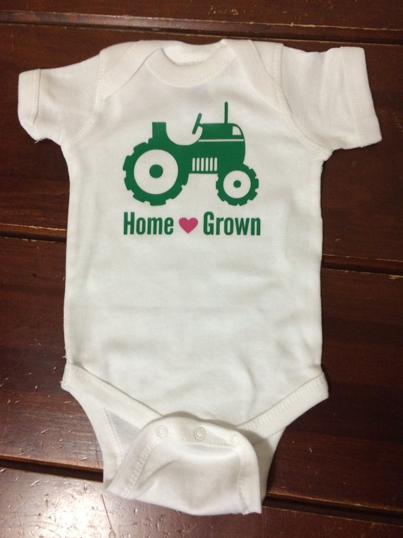 Home Grown Country Baby One Piece Baby Shower Gift