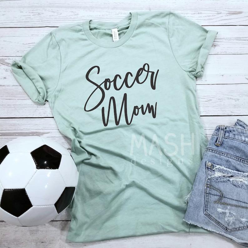 d6ab48080b9 Soccer Mom Unisex shirt unisex soccer tshirt soccer tee