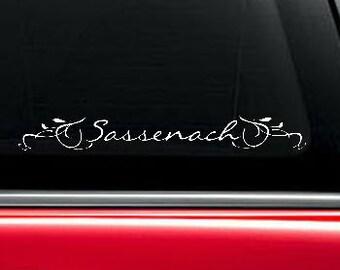 Sassenach Outlander inspired vinyl decal