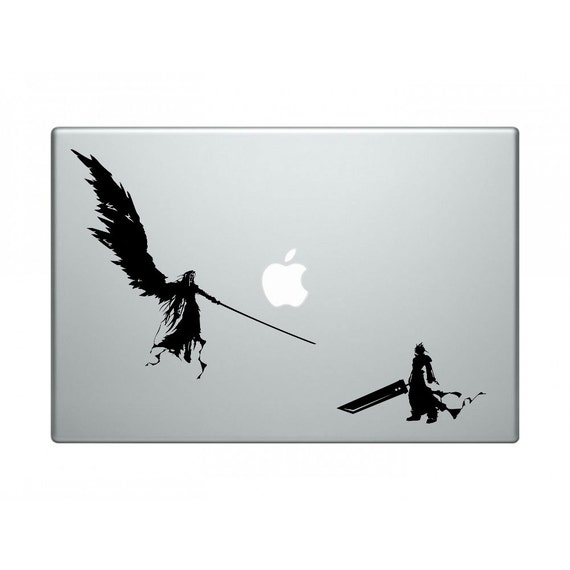 Final Fantasy 7 Sephiroth And Cloud One Winged Angel Vinyl Decal