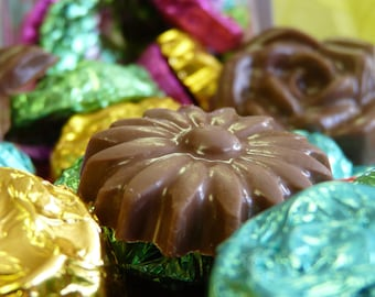 Solid Foiled Chocolates