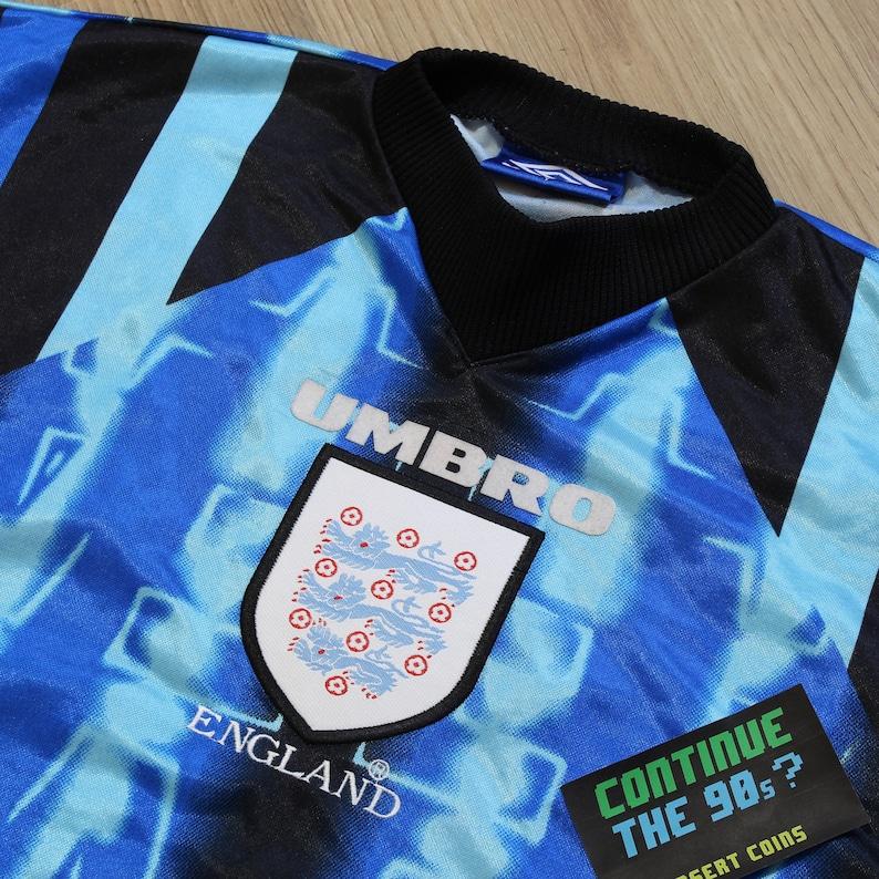 ed2d74d10 Vintage 1997 8 Umbro England Goalie Goalkeeper Uniform Long
