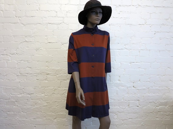 MARIMEKKO Long Jacket Purple Terracotta Cardigan W