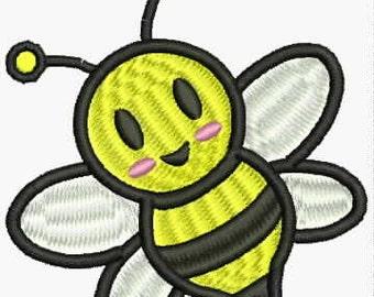 Honey Bee Embroidery