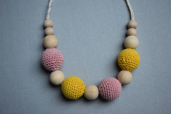 Häkeln Krankenpflege Halskettestillen Kette Halskette Mit Etsy