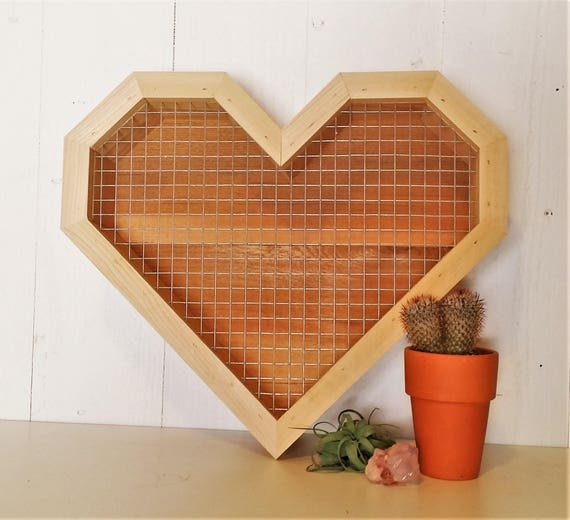 Large Heart Shaped Succulent Picture Frame Planter Succulent Etsy