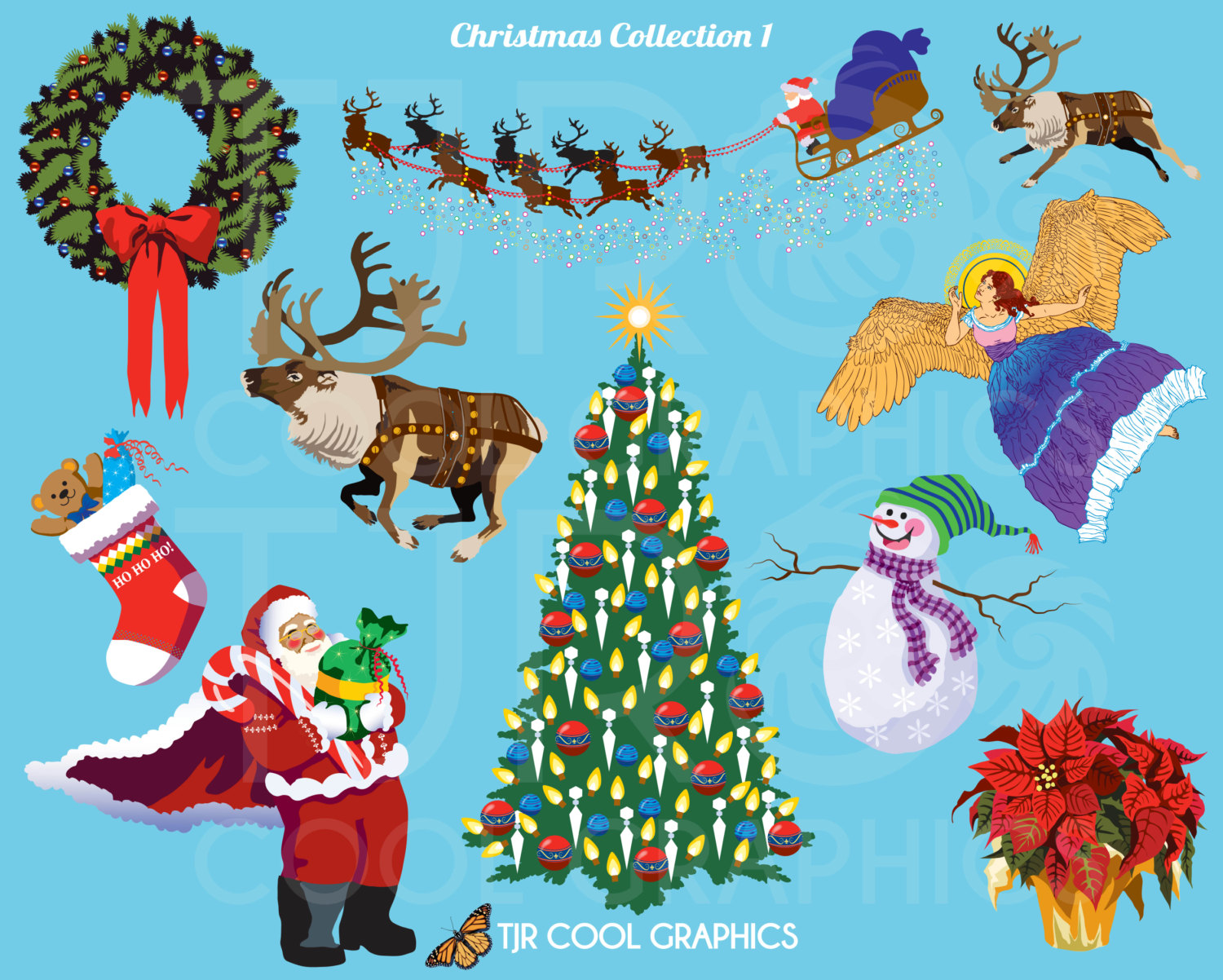 clip art weihnachten digitale clipart png druckbare. Black Bedroom Furniture Sets. Home Design Ideas