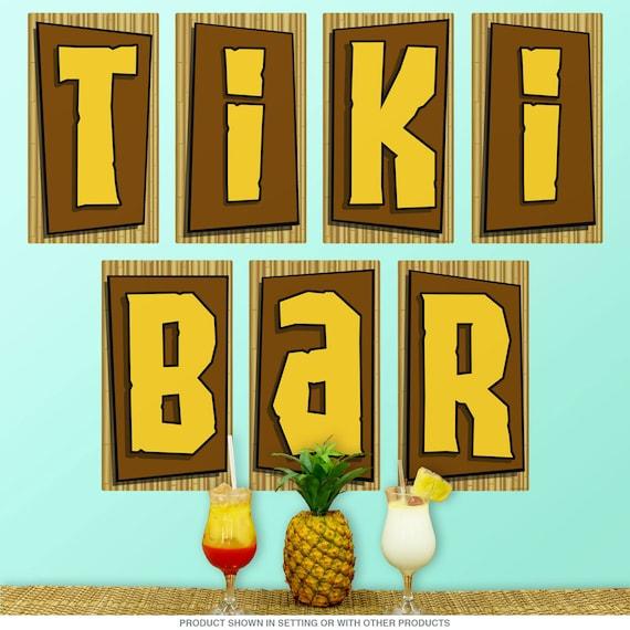 Tiki Wall Sticker Dezign With A Z
