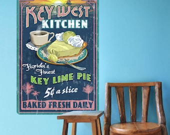 Key West Kitchen Key Lime Pie Wall Decal - #60910