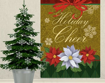 Holiday Cheer Christmas Wall Decal - #65611