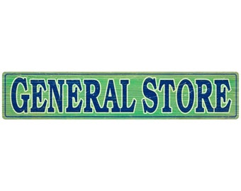 General Store Signboard Rustic Wall Decal #50124
