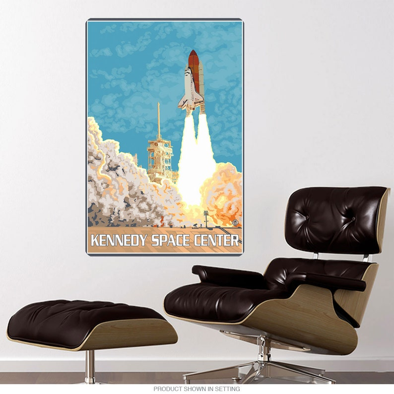 Kennedy Space Center Florida Shuttle Wall Decal