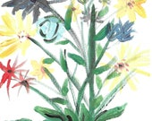Wildflowers - Original Acrylic on Canvas Art