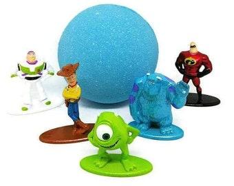 Bath Bomb With Toy Inside - Bath Bomb - Kids Bath Bomb - Bath Bomb For Kids - Bath Toy - Bath Bomb Gift - Kids Gift - Toy Surprise