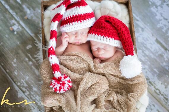 Neugeborene Elf Longtail Elf Hut Baby Elf Mütze Hut Baby   Etsy
