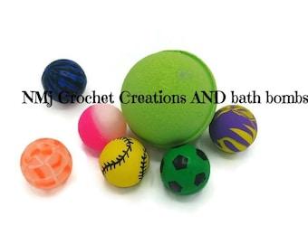 Bath Bomb Surprise  -  Surprise Bath Bomb - Toy Bath Bomb - Kids Bath Bomb - Bath Bomb For Kids - Toy Bath Bomb - Bath Bomb Favor - Bath Toy