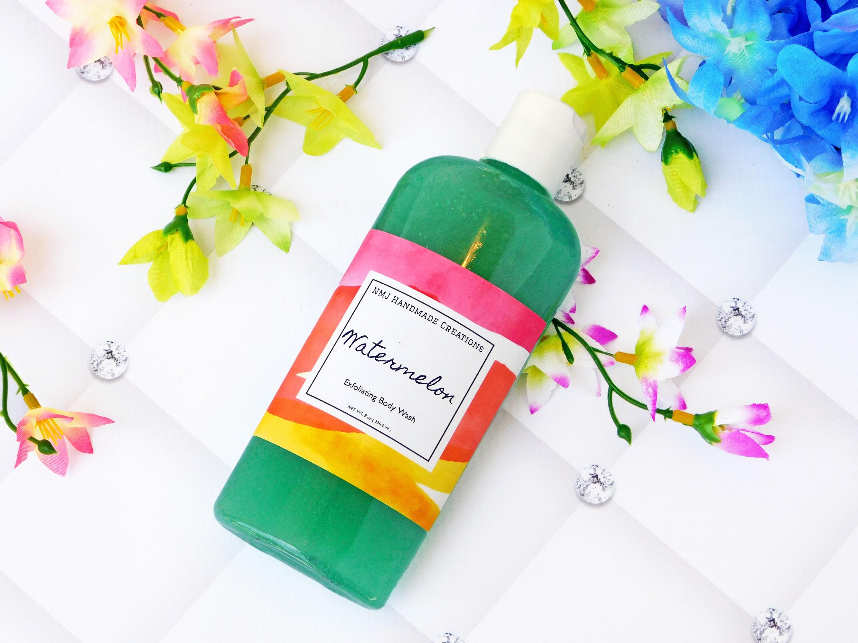 Watermelon Exfoliating Body Wash With Jojoba Beads | Shower